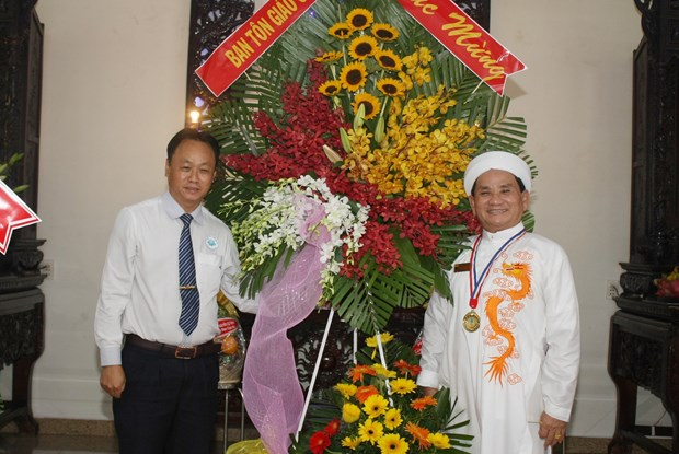 Ceremony marks 94th founding anniversary of Caodaism hinh anh 1