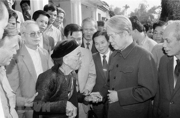 Do Muoi – An exemplary, steadfast communist hinh anh 1