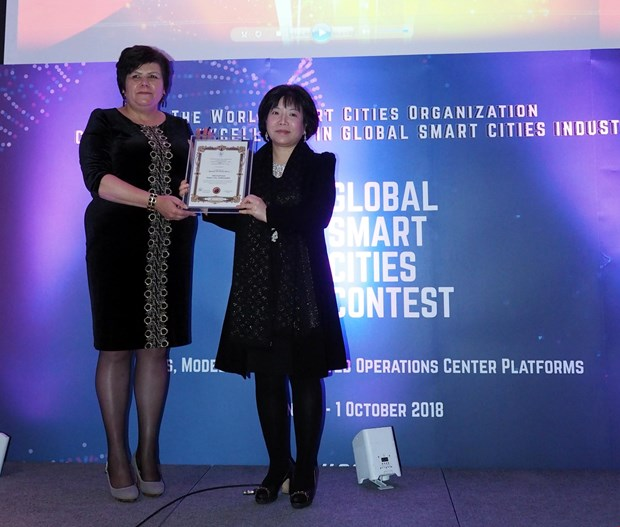 Vietnamese firm wins at Global Smart Cities Contest hinh anh 1