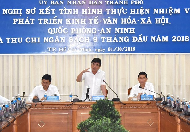HCM City confident of fulfilling 2018 budget collection hinh anh 1