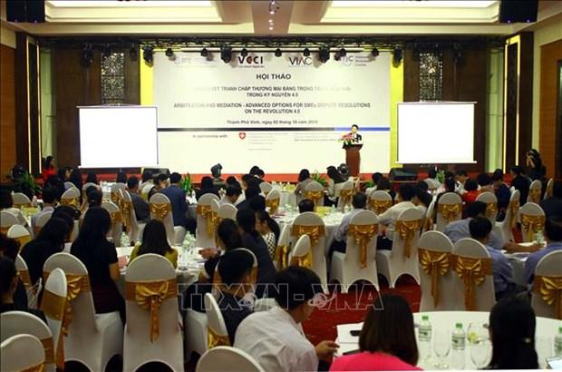 Nghe An seminar talks trade dispute settlement hinh anh 1