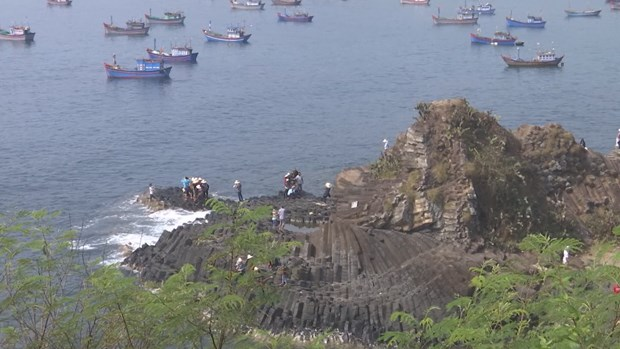 New rock formation found in Phu Yen province hinh anh 1