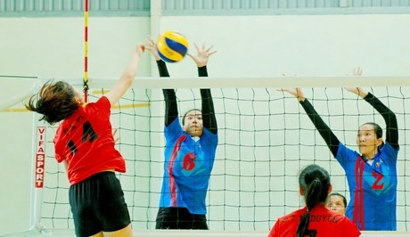 Int'l Volleyball Championship – Vinh Long TV Cup closes hinh anh 1