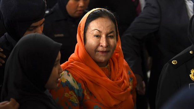 Wife of former Malaysian PM charged with money laundering hinh anh 1