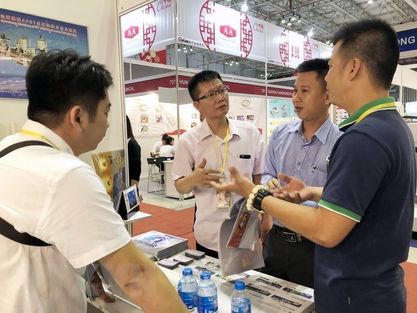 Vietnam Int'l Plastic & Rubber Industry Exhibition opens hinh anh 1