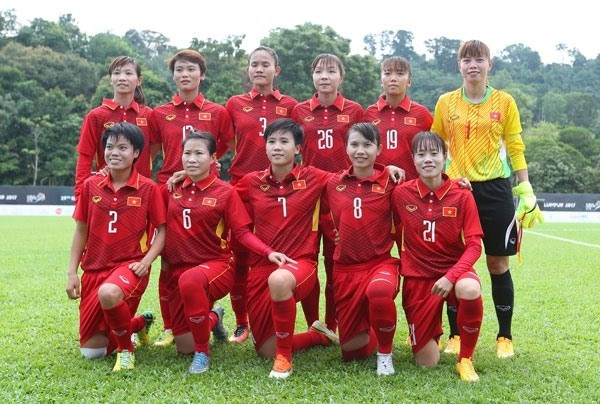Vietnam's female football team rise one step in FIFA rankings hinh anh 1