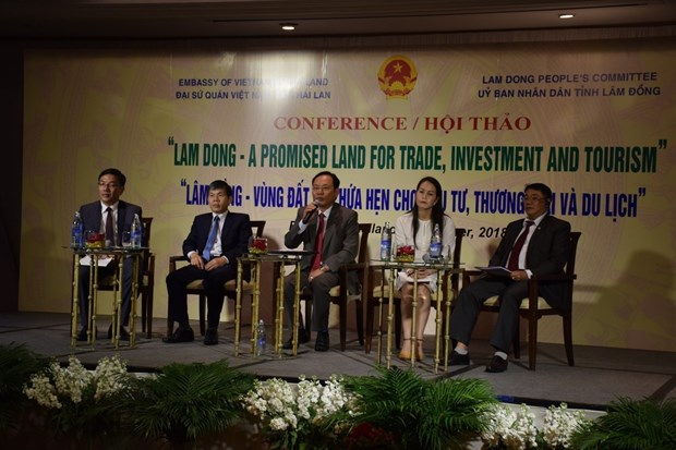 Lam Dong promises to be ideal land for Thai investors, tourists hinh anh 1