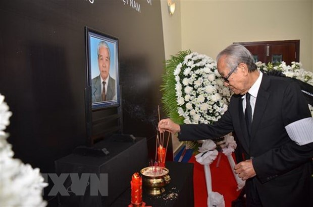 Tribute-paying ceremonies for former Party leader held abroad hinh anh 1