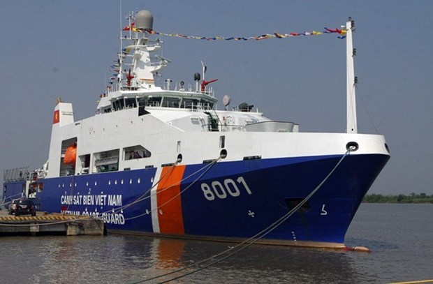Coast Guards of Vietnam, India hold joint exercise hinh anh 1