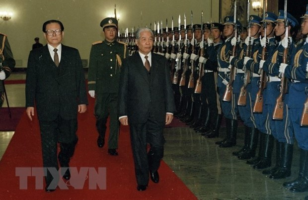Party General Secretary Do Muoi's imprint on foreign policies hinh anh 1