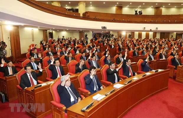 Party Central Committee issues announcement on 8th plenum hinh anh 1