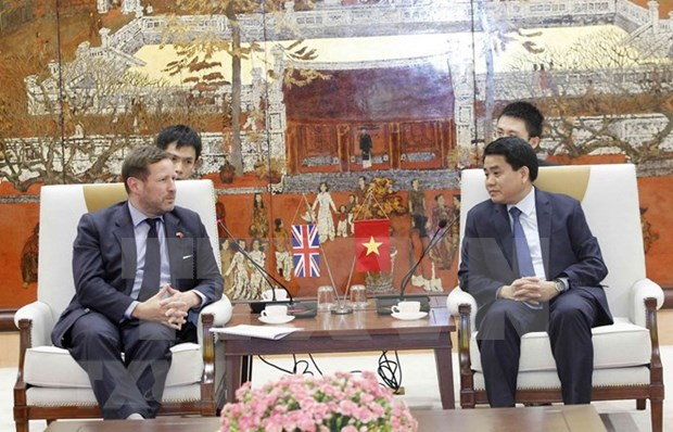 Hanoi to intensify cooperation with UK in various fields hinh anh 1