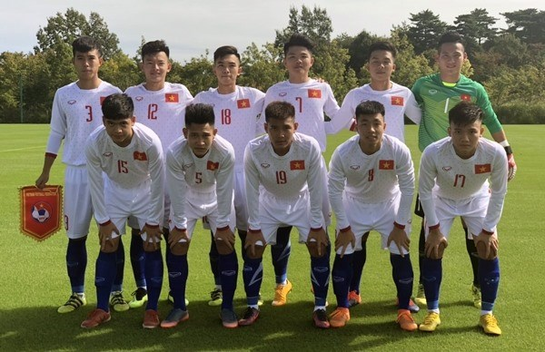 Vietnam lose to Myanmar in Jenesys football event hinh anh 1