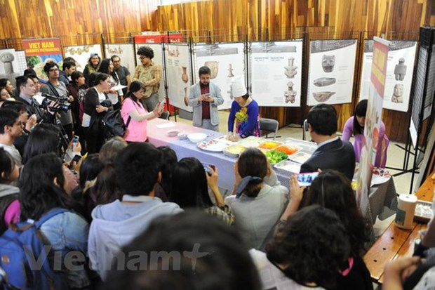 Vietnamese culture popularised in Mexican university hinh anh 1