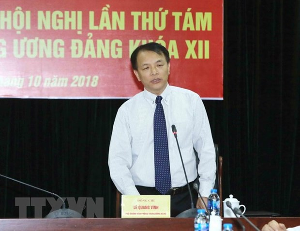 Confidence vote to be cast on Party Politburo, Secretariat members hinh anh 1