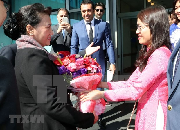 NA Chairwoman arrives in Turkey for MSEAP 3 hinh anh 1