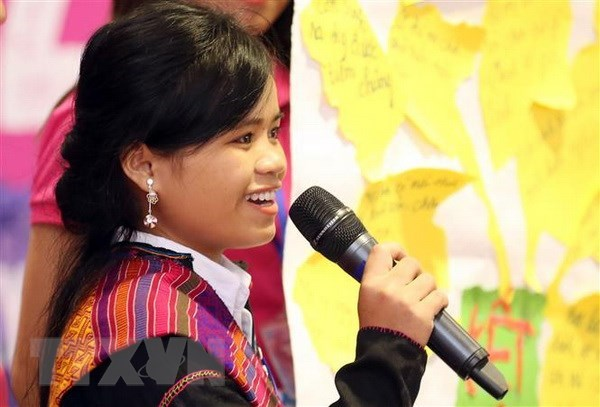 National forum seeks to promote girls' rights, end child marriage hinh anh 1