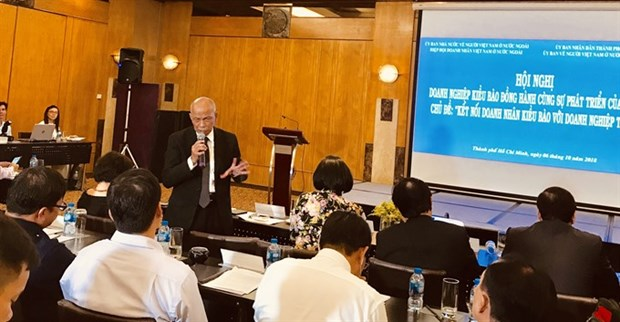 Ways sought to better linkages with overseas Vietnamese firms hinh anh 1
