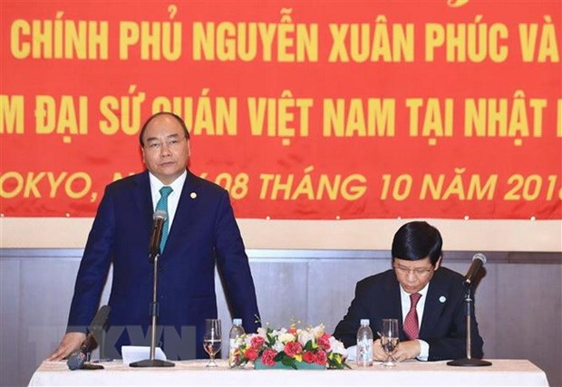 PM lauds efforts of Vietnamese community in Japan in bolstering bilateral ties hinh anh 1