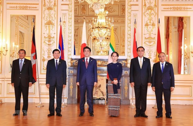 PM Nguyen Xuan Phuc attends 10th Mekong-Japan Summit hinh anh 1