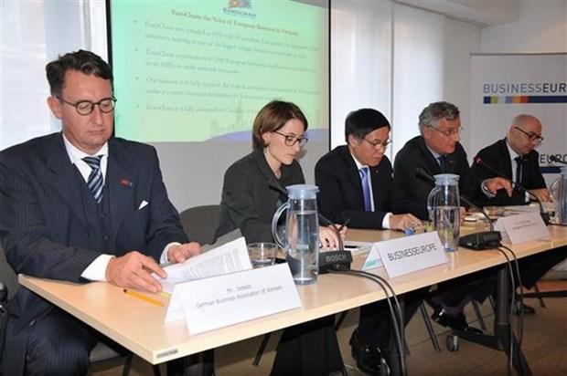 European firms support EU-Vietnam FTA signing hinh anh 1