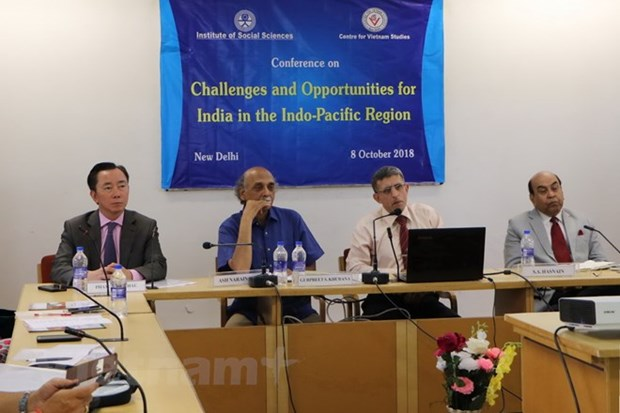 Opportunities, challenges in Indo-Pacific region discussed in New Delhi hinh anh 1