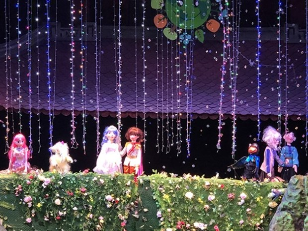 International Puppet Festival kicks off in Hanoi hinh anh 1