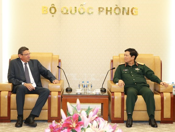 Vietnam, Israel step up defence cooperation hinh anh 1