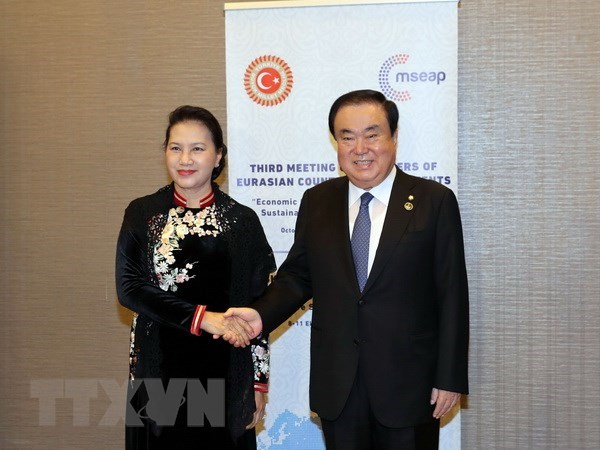 Vietnamese NA ready to boost ties with RoK's legislature hinh anh 1