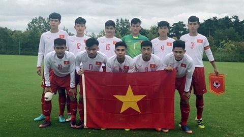 Vietnam's U17 team ranks 4th in Jenesys football tournament hinh anh 1