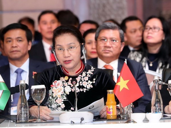 Vietnam ready to support cooperation with Eurasian parliaments: NA Chairwoman hinh anh 1