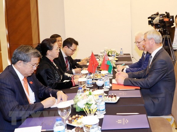 Vietnam, Belarus enhance multifaceted cooperation hinh anh 1