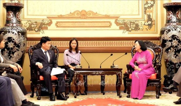 HCM City, RoK's Gyeonggi province foster collaboration hinh anh 1
