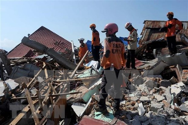 Indonesia: Twin-disaster death toll soars to 2,045 hinh anh 1