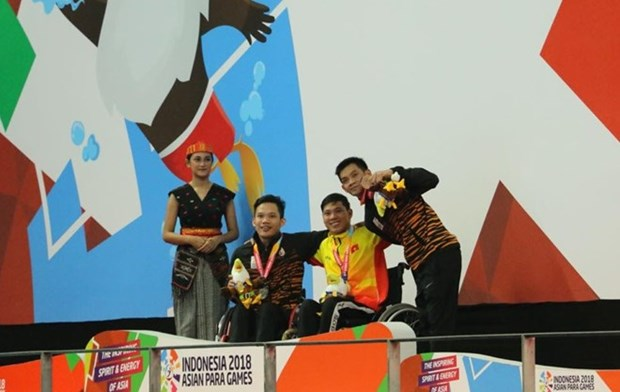 Swimmer Tung breaks another record at Asian Para Games hinh anh 1