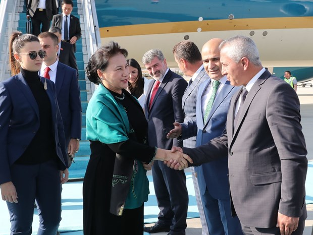 Vietnamese NA Chairwoman pays official visit to Turkey hinh anh 1
