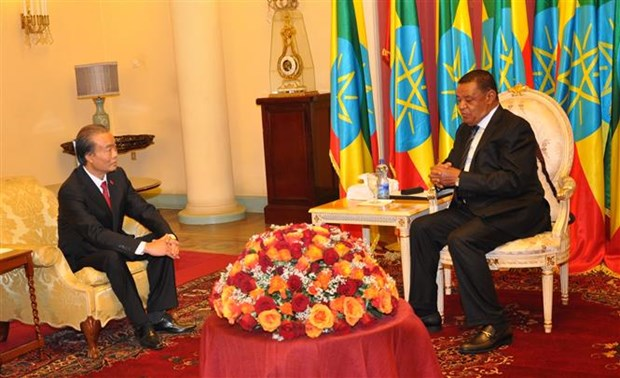 Ethiopian President asks Vietnam to reopen embassy in Addis Ababa hinh anh 1