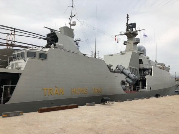 Vietnam participates in RoK Navy's International Fleet Review hinh anh 1