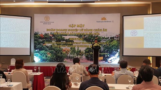 European travel agents make fact-finding tour of Hanoi hinh anh 1