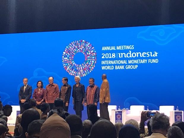 IMF, WB launch Bali Fintech Agenda hinh anh 1