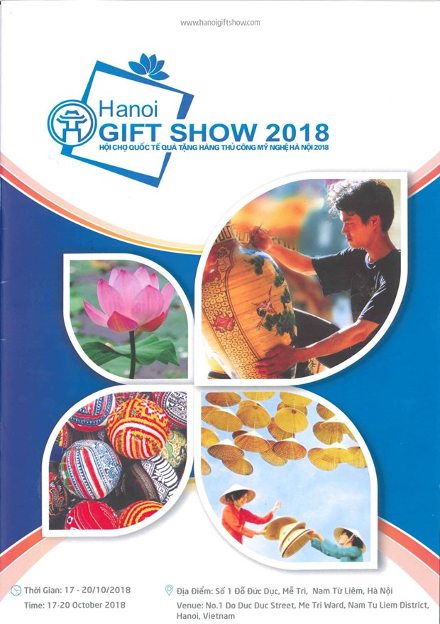 Hanoi Gift Show 2018 to open next week hinh anh 1