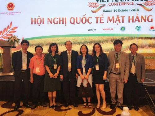 Hapro strikes rice export deals at world rice conference hinh anh 1