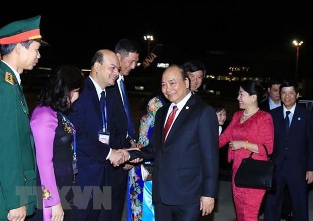 PM wraps up trip to Japan, Mekong-Japan Summit hinh anh 1