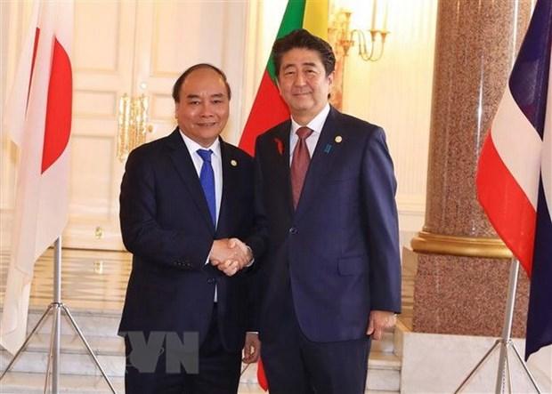 PM wraps up trip to Japan, Mekong-Japan Summit hinh anh 2