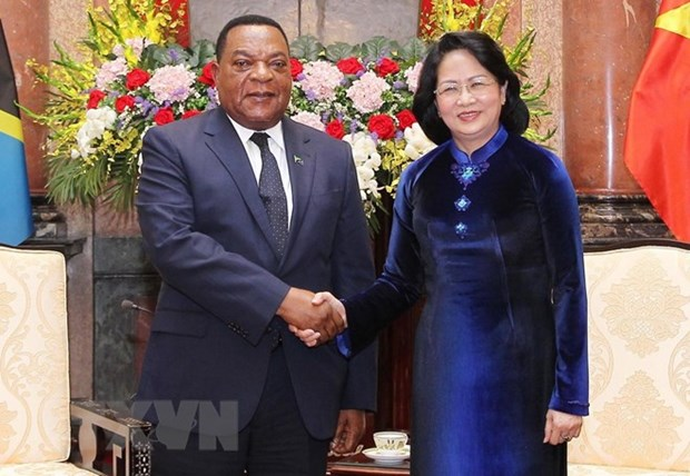 Tanzania a prioritised African partner of Vietnam: Acting President hinh anh 1