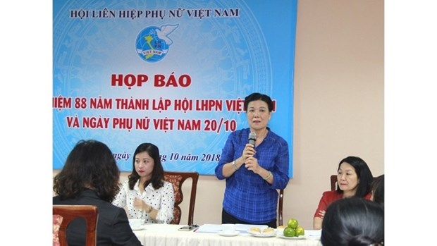 Various activities to mark Vietnamese Women's Day hinh anh 1
