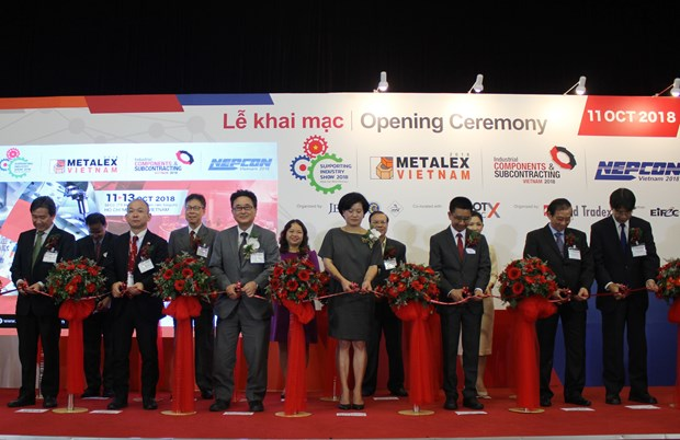 Series of manufacturing expos take place in HCM City hinh anh 1