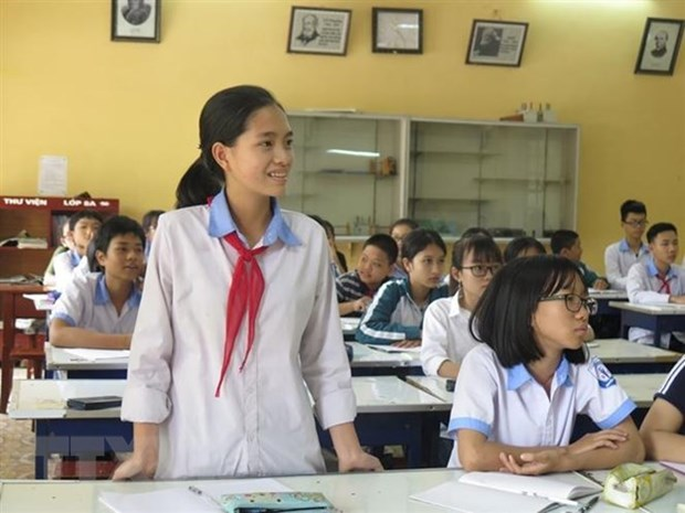 Vietnamese student wins third prize at int'l letter-writing contest hinh anh 1