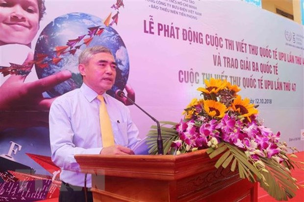 48th edition of world's letter-writing contest launched hinh anh 1
