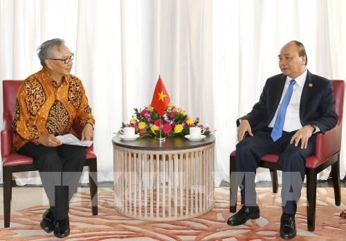 Prime Minister meets Indonesian business leaders hinh anh 1